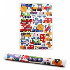 Wall Sticker Decal Art Mural Room PVC Removable Train Team Colorful Kids