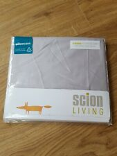 SCION LIVING PAIR OF STANDARD PILLOWCASES 400 THREAD COUNT COTTON SATEEN BNIP