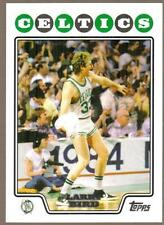 Topps Larry Bird Piece of Authentic Basketball Trading Cards