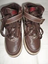 Nike Air Force 1 Mid Premium Size 10.5 Style #310277-223 Dark Oak & Bone