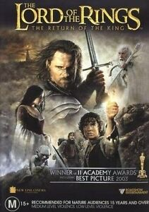 The Lord Of The Rings The Return Of The King (DVD) *Brand New**Sealed*