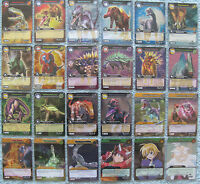 Dinosaur King TCG Choose 1 Series 1: Base Set Silver Rare Foil Card from List