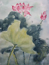 PEG POTTER - Impressionist Watercolor Painting - Canada - Late 20th Century
