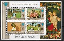 UNICEF-Jahr des Kindes/ Burundi MiNr Block 109 A **