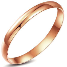 LARGE BANGLE ROSE GOLD LAYERED 8mmx66mm BB045R8
