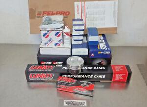 SBC 350 Performance Master Engine Rebuild Kit w/ LUNATI VOODOO 10120703 Cam