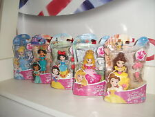 Disney Princess JOB LOT SNAP-INS Snow white,belle,jasmine,aurora,cinderella X5
