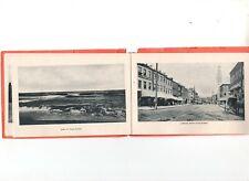 NEWBURYPORT, MASSACHUSETTS, VINTAGE PICTURE BOOK, c 1905, 12 DIFFERENT IMAGES