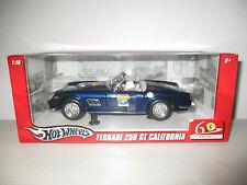 FERRARI 250 GT CALIFORNIA 60°ANNIVERSARIO HOTWHEELS SCALA 1:18