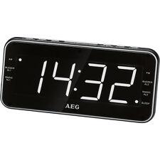 AEG MRC 4157 Radio despertador USB carga de móvil (AM / FM / USB / AUX-IN)