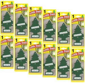 12 X Magic Tree Little Trees Car Air Freshener - Forrest Fresh