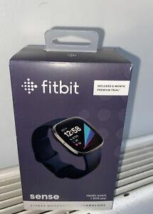 Fitbit Sense Activity Tracker Brand new in Box ,,Graphite/ Steel