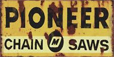 Metal Tin Sign pioneer chain saws Bar Pub Home Vintage Retro Poster Cafe ART