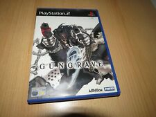 PS2 Gun Grave Gungrave PlayStation 2 PAL ps2
