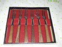 Viking Japan Miniature Hors D'Oeuvre Forks - Snack Forks