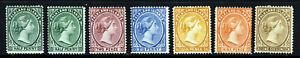 FALKLAND ISLANDS Queen Victoria 1891-02 Wmk Crown CA Part Set SG 15 - SG 37 MINT