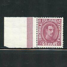 ICELAND SCOTT#184 MARGIN COPY MINT NEVER HINGED ORIGINAL GUM
