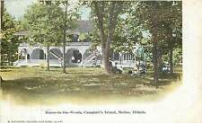 Illinois, IL, Moline, House-In-The-Woods, Campbell's Island UDB (pre-1907) PC