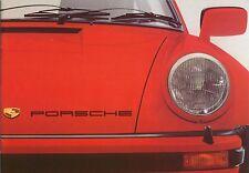 Porsche Range 924 911 Carrera Turbo 1976-77 Original UK Brochure No. 1123.20