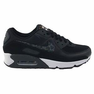 Nike Air Max 90 Womens Shoes Size US 10 UK 7.5 | Black Safari Sneakers