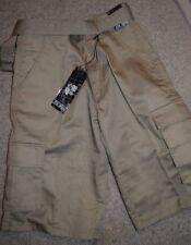 New Boy's Old School khaki Shorts with Belt  size 16