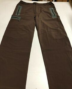 Cloudveil Men's Symmetry Pants in Brown - Cyclone Soft Shell Plus