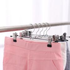 1pc Household Black Scarf Tie Wardrobe Hanger Rack Skid Trousers Pants Hanger HU