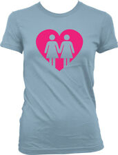 Love Same Sex Couples  - Gay Lesbians Pride Relationships Juniors T-shirt