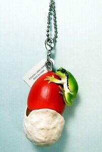 Kitan Club Japanese tree frog Mushroom Slender Caesar Keychain US seller New