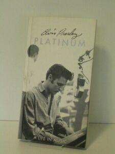 4 CD Longbox Elvis Presley - Platinum A Life In Music (1997 BMG EU) -Remastered-