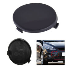 Front Round Bumper Tow Towing Hook Eye Cap Black Cover For Ford Focus C-Max