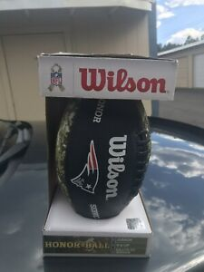 "New England Patriots Wilson ""Salute to Service"" Junior NFL Football"