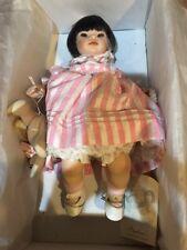 """Pauline Bjonness Jacobsen Porcelain Doll 13.5"""" Ashlee Limited 165/950 COA New"""