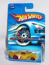 Hot Wheels 2005 Crazed Clowns II Series #114 1941 Willys Coupe Grey Base w/ 5SPs