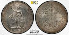 China Great Britain silver Trade dollar 1897 Bombay uncirculated PCGS MS61