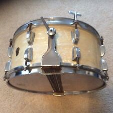 "RARE 1940s-50s WFL LUDWIG 6x14"" CLASSIC SNARE DRUM. MWP MAHOGANY"