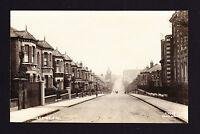 RPPC Wakehurst Road SW11 London Clapham / Wandsworth Street View Card House RP