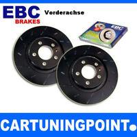 EBC Discos de freno delant. Negro Dash para FORD C-MAX usr1309