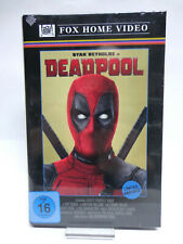 Bluray - Deadpool (limitiert auf 555)(gr. Hartbox)(Birnenblatt)(mit OVP) NEUWARE