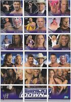WWE APOCALYPSE SMACKDOWN PUZZLE (Rare Insert Set of 9 Cards) 2004 Topps UK