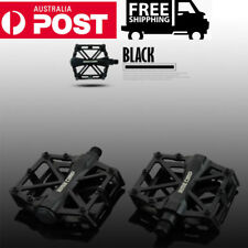 Bike Pedals Bicycle Cycling Flat Platform MTB BMX Mountain Road Alloy 9/16""