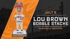 Lou Brown Major League Cleveland Indians Akron RubberDucks Bobblehead SGA 7/8/17