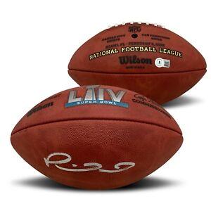 Patrick Mahomes Autographed Super Bowl 54 LIV Signed Football Beckett COA