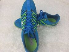Nike Mens Track and Field Spike Running Shoes Size 14 Zoom Rival D Blue