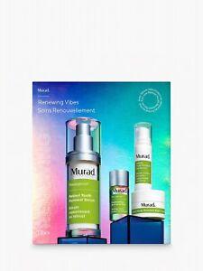 Murad Resurgence Renewing Vibes Skincare Gift Set BNIB