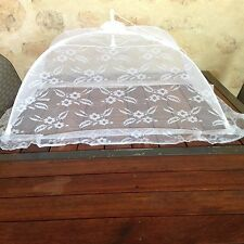 Food Cover Pop Up Screen Umbrella Mesh X LARGE 1 METRE Table Cover All Picnic
