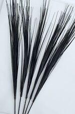 "5 x Sprays Black Onion Grass Artificial 34"" long Wedding Fishbowl Decorations"