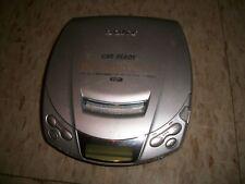 Sony Discman Esp Car ready Cd Player D-E206Ck Works