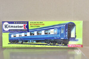 KITMASTER 32 KIT BUILT BR MIDLAND TYPE 6 1st CLASS KITCHEN CAR COACH KIT nz