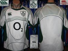RUGBY UNION IRFU IRELAND Canterbury 2007/2009 Away Shirt Jersey Camiseta
